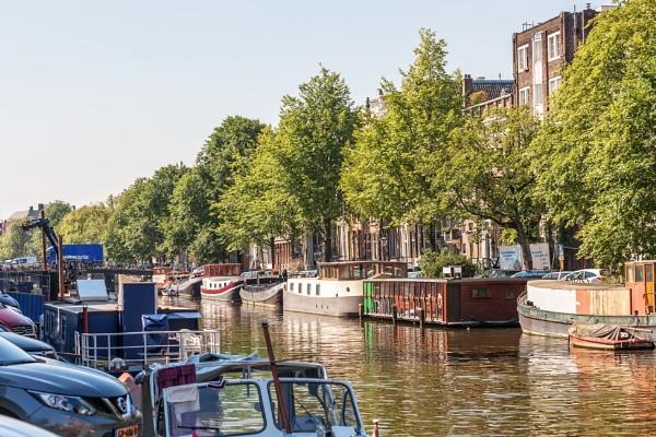 Langs de Amsterdamse grachten (Along the canals of Amsterdam) by kuipje