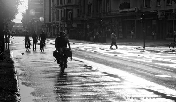 Urban Scene by MileJanjic