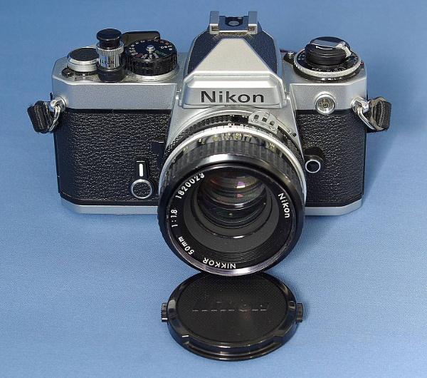 Nikon FE by pentaxpete