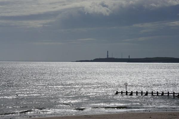 Girdleness Lighthouse Aberdeen Scotland UK by betttynoir