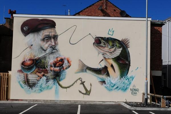 Blackpool Mural by chensuriashi