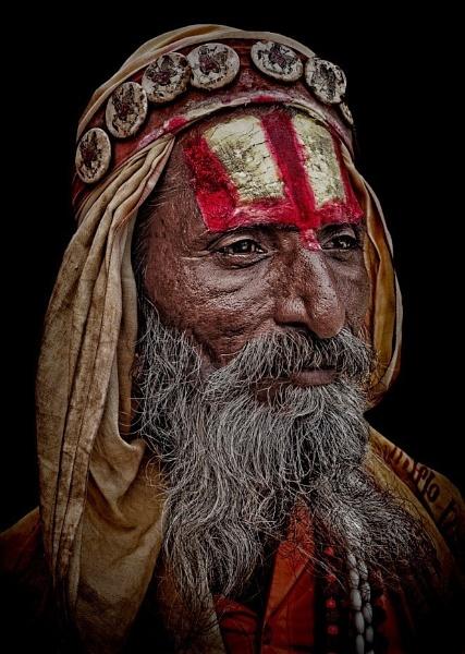 wandering sadhu by sawsengee