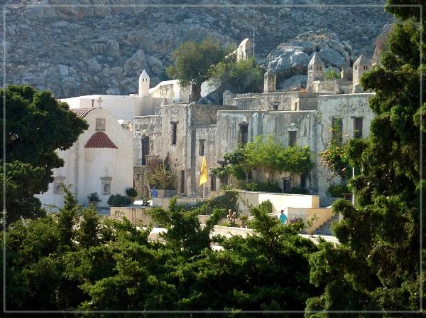 Preveli monastery by CarolG
