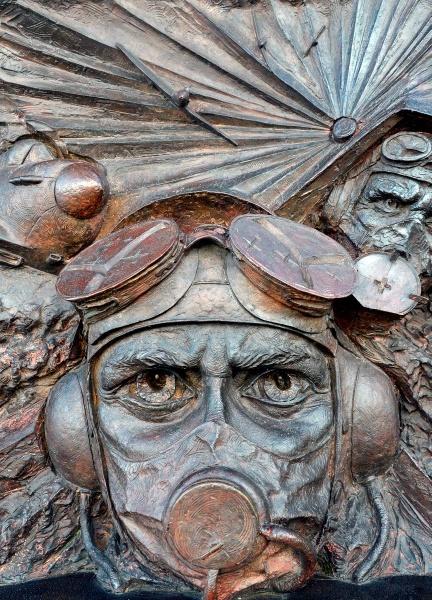 Battle of Britain Memorial, Embankment, London by peterthowe