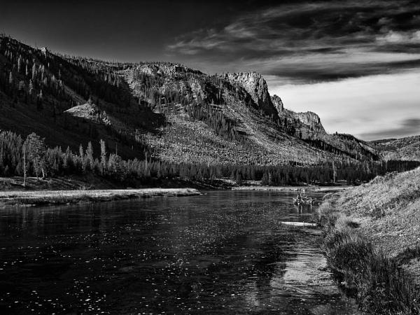 Yellowstone Mountain by mlseawell