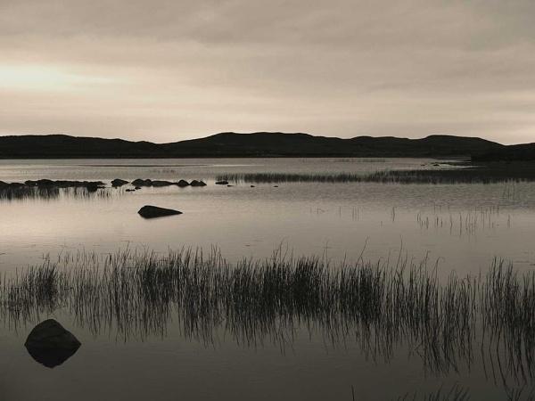 Calm Lake by Francois Lepinay