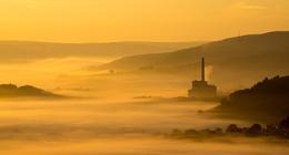 Derbyshire sunrise.