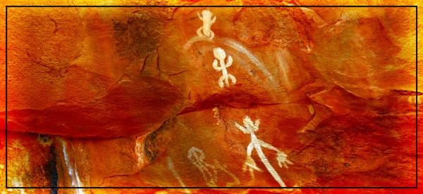 Aboriginal Rock Art by Jocelia