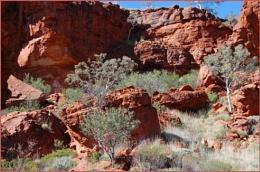 Figure in the Rocks