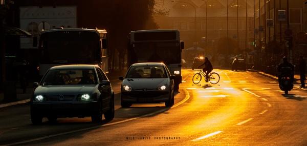 Urban Scene IV by MileJanjic