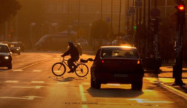 Urban Scene V by MileJanjic