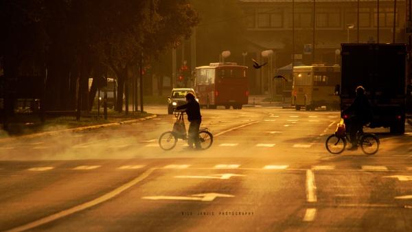 Urban Scene VII by MileJanjic
