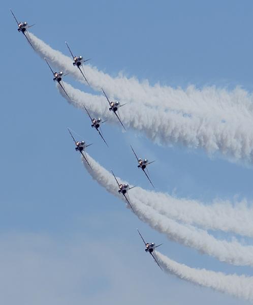 Blackpool Airshow Arrows by chensuriashi