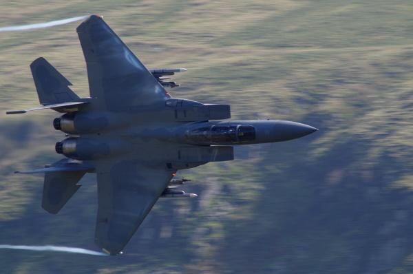 USAF F-15 Mach Looper by Kako