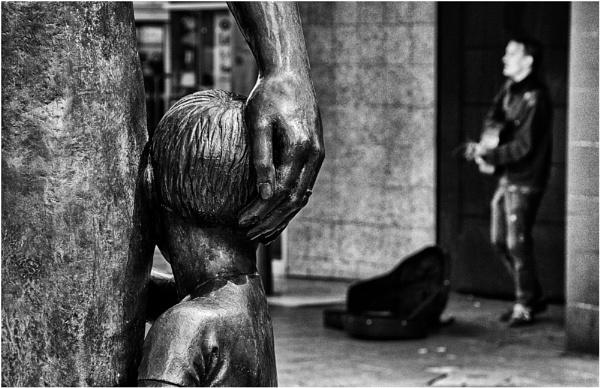 Busking. by franken
