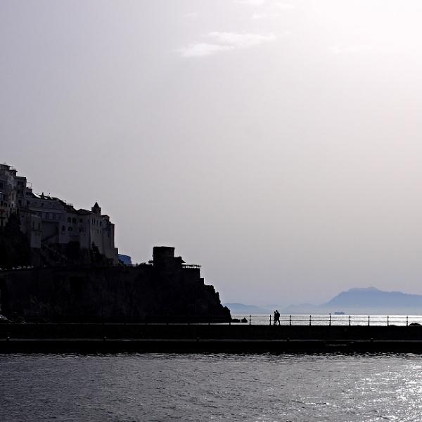 Amalfi, passegiata by pascalg