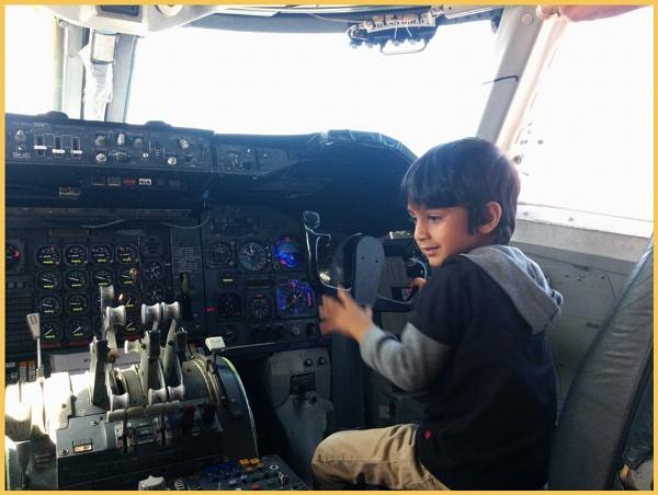 Loki at Cockpit by prabhusinha