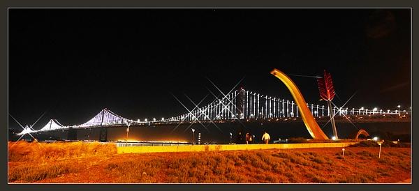 Bay bridge by prabhusinha