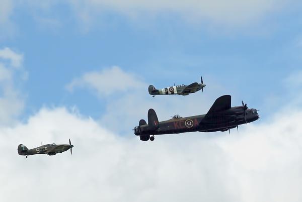 Battle of Britain Memorial Flight. by TonyDy