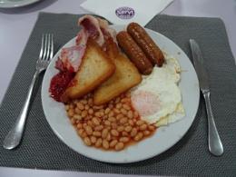 Breakfast at Benidorm