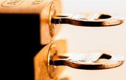 Photo : Keys in locks