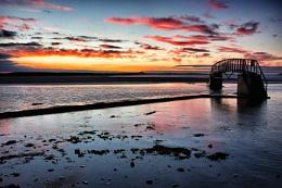 Bridge to Nowhere, Dunbar Scotland