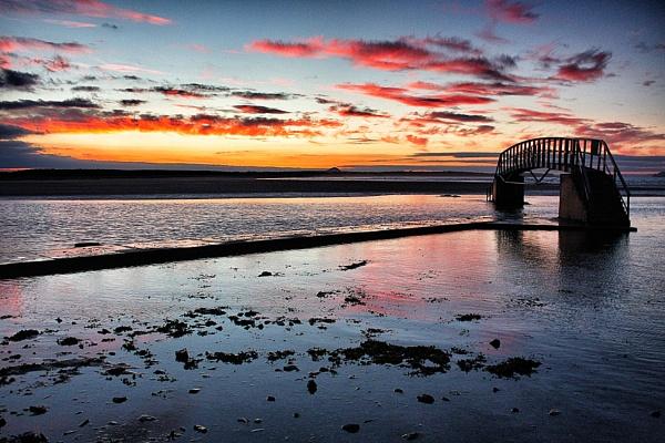 Bridge to Nowhere, Dunbar Scotland by DanfromScotland