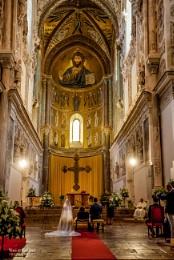 Ancient church wedding ceremony
