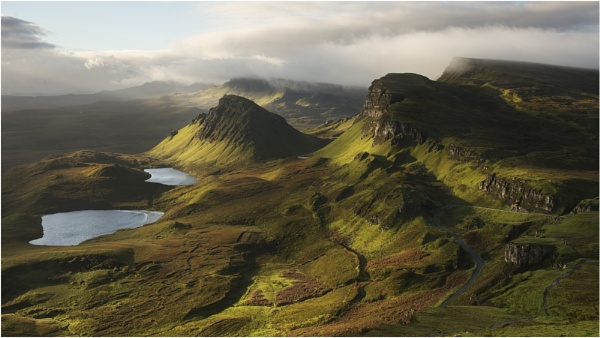 Trotternish Ridge by wanny