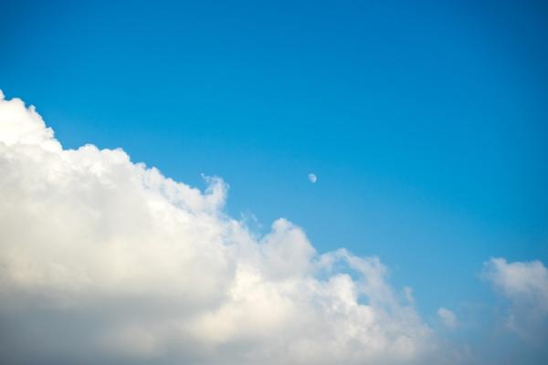 The moon by Sillu
