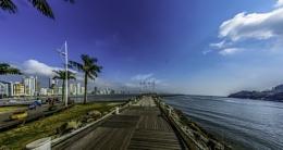 Pier at Barra Sul, Balneario Camboriu, Brazil