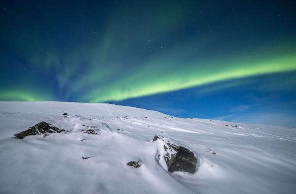 Midnight Aurora Abisko by Legend147