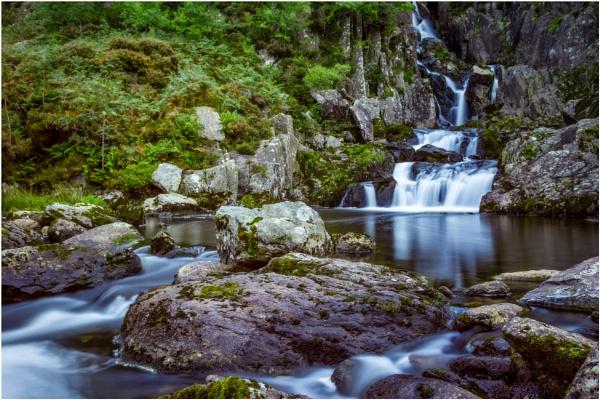 Ogwen Falls.. by Satlight