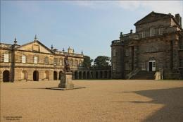 Shadows at Seaton Delaval Hall, Northumberland