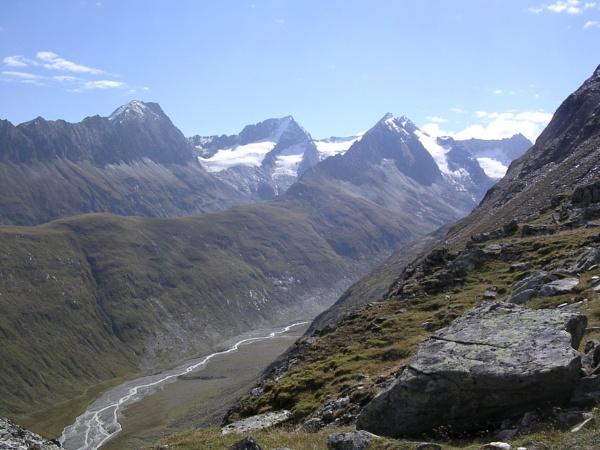 Rotmoostal from Hangerer, Gurglertal, Tirol by scotsjerry