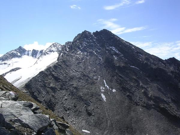 View towards Seelenkogel from SW side of Hangerer by scotsjerry
