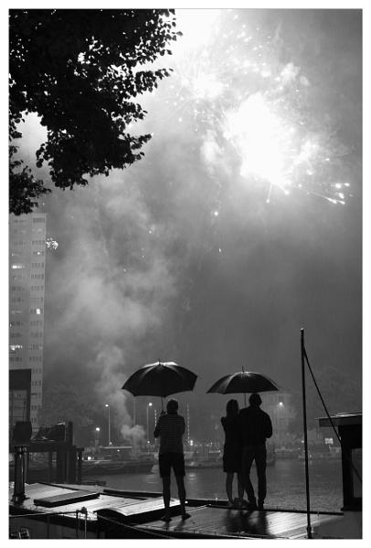 Firework in Groningen by bliba