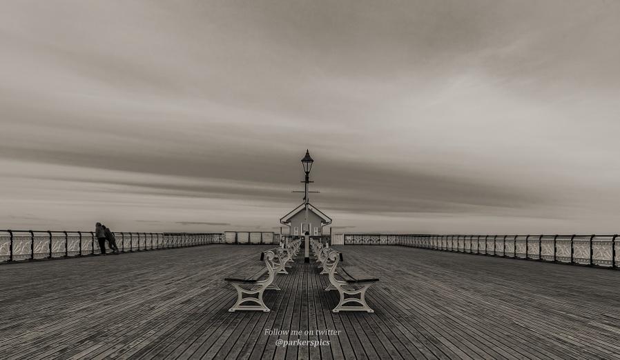 Penarth Pier (in the summer!)