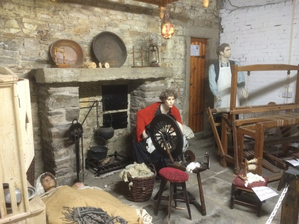 Weavers Cottage 1800s Lancashire by Art2105