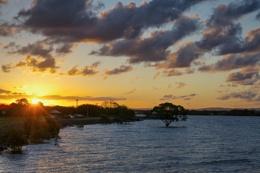 Sunset At Sandgate
