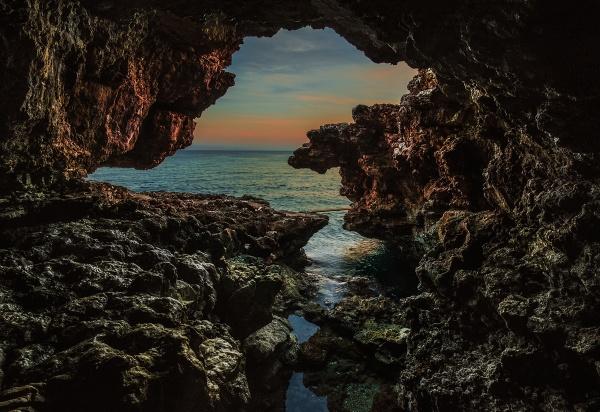 Cala Barca Cave by brzydki_pijak