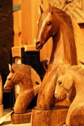 Wooden Horses.