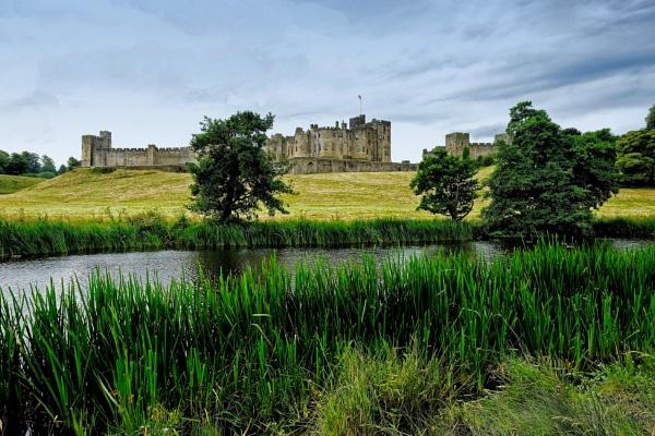 Alnick Castle by silverfoxey