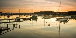 Sunrise at Woodbridge