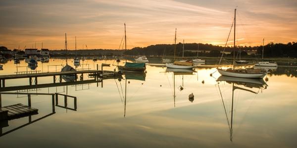 Sunrise at Woodbridge by jonkennard