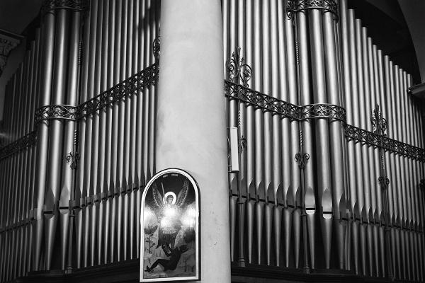 Organ Pipes - St Michaels in Cornhill, London