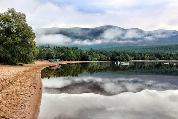 Loch Morlich near Aviemore by DanfromScotland