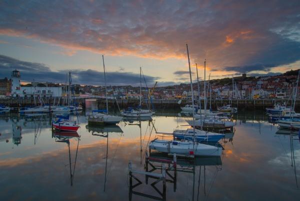Sunset Harbour by Stumars