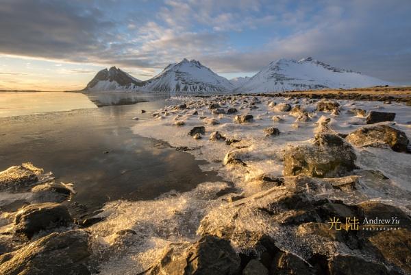Morning Light, Iceland by awhyu