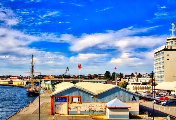 Fremantle Harbour. by WesternRed
